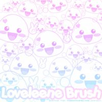 Loveleene Brushes by xlilbabydragonx