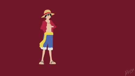 One Piece Monkey D. Luffy by PewPewMannen