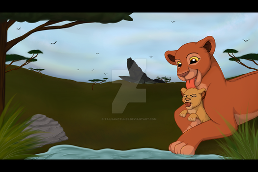 REDRAW +VIDEO: By the waterhole by Tailsandtunes