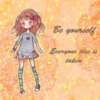 Be youself by AngelArt123