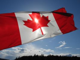 Canadian flag by aesoph