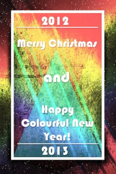 2012 Christmas and The Colorful New Year by xxxDelgadoxxx