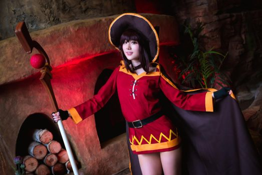 Megumin by Arctic-RevoIution