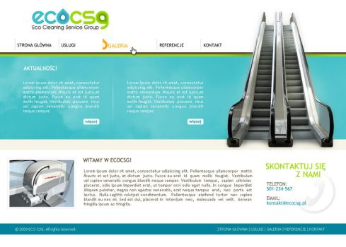 ECOCSG - design by Funialstwo