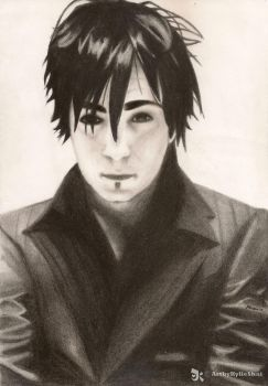 Adam Gontier by KylieShai