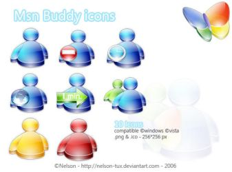 Msn Buddy Icons by Nelson-Tux