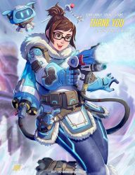 Mei from Overwatch by Jeff-Mahadi