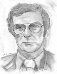 Michael Caine by janickg