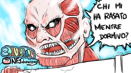 Attack on titan parody ITA/ENG YOUtube NFJdrawings by burnout89