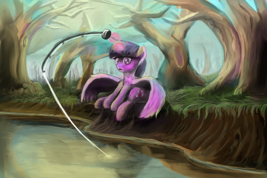Twilight vs. fish by khyperia