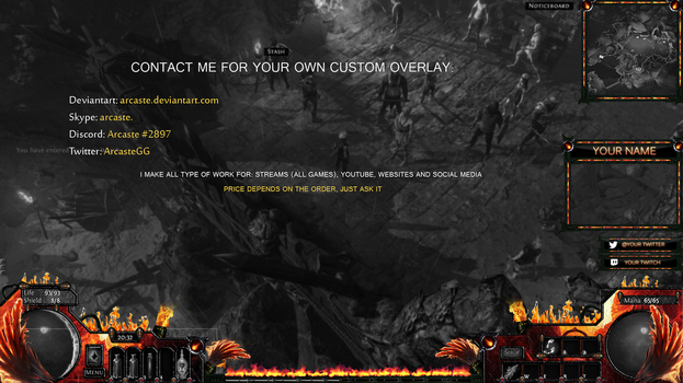 Overlay - Path of Exile by Arcaste