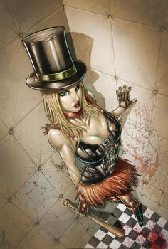 WONDERLAND ASYLUM color by Vinz-el-Tabanas