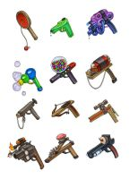 Teddy's Turf - Weapons by KatieHofgard