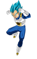 Vegeta SSJ Blue - Universe Survival by Dannyjs611