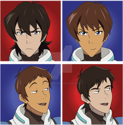 Keith Lance Character Swap Voltron by DragonAvenger24
