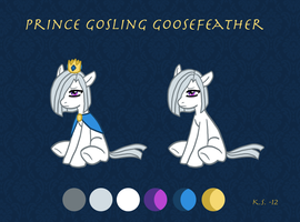 MLP OC Prince Gosling by The-Clockwork-Crow