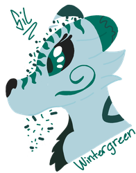 QwQ wintergreen by Silvent-the-wolfie
