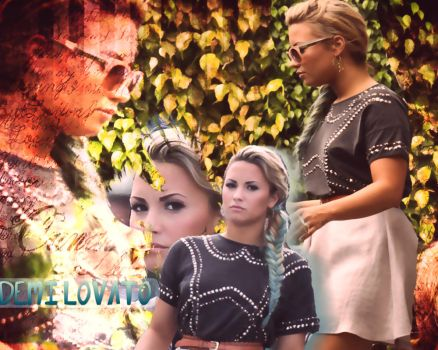 Demi Lovato Wallpaper by tutorialslucy