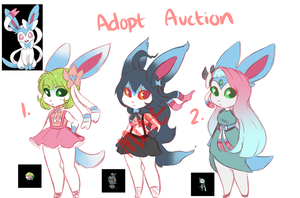 [CLOSED] Shiny Sylveon Fusion Adopts by Freeze-pop88