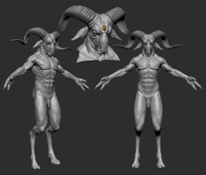 CGHub Nightmare Competition Wip 03a by screenlicker
