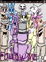 FNAF: Follow Me... by ShinjitsuForever
