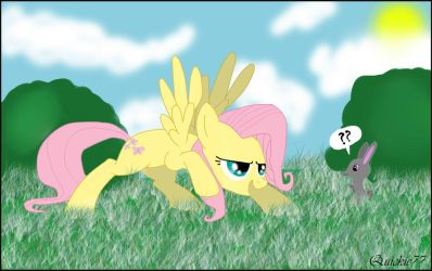 Danger Fluttershy is here.... by Quickie77