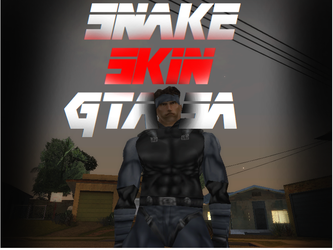 Solid Snake Metal Gear Solid? - GTA SA Skin by RyuHoshi-DeadCrow
