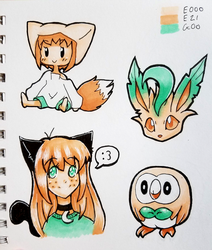 My First Copic Doodles by Yukiru