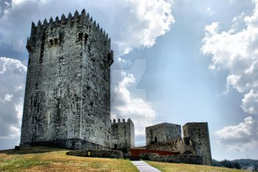 Montalegre Castle in Portugal by vmribeiro