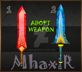 [CLOSED] Design Adopt Weapon - 24 by MhaxiR