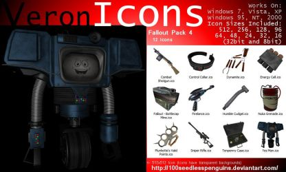 VIcons - Fallout Pack 4 by 100SeedlessPenguins