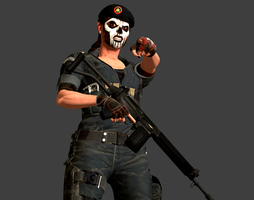 R6S BOPE Caveira - Fase Poseable by Marcelievsky