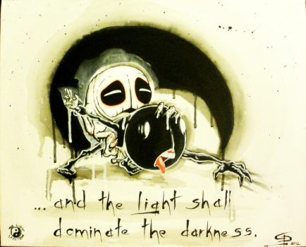 ... and the light shall dominate the darkness. by Ace-McGuire