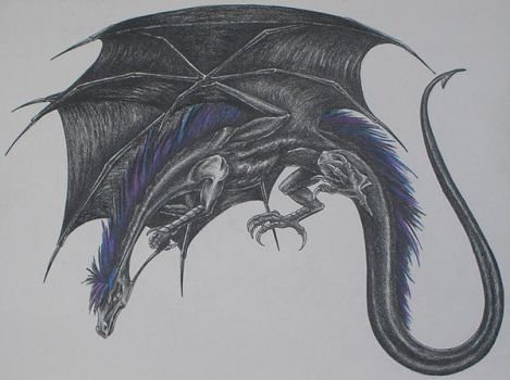Black Dragon by IsilanaRith