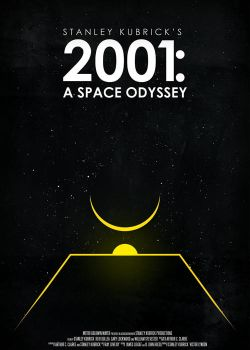 2001: A Space Odyssey by O-nay