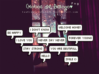 Globos de Dialogo by LuuCreativeColors