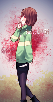 UNDERTALE:Chara by sasucchi95