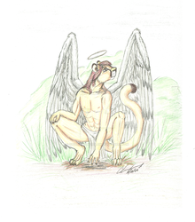 Angelic Series - Watchful - color by sabbathsilverclaw