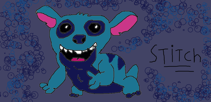 stitch ... by Disneyfanatic19
