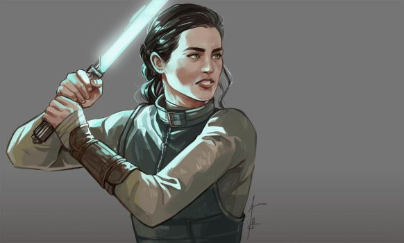 StarWars!Katie by lesly-oh