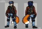 Acheron - Reference Sheet by TheLivingShadow