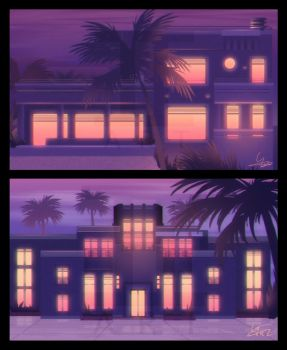 Vaporwave Style by Ilona-the-Sinister