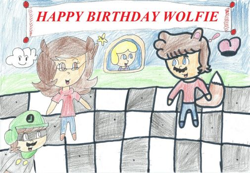 Gift: Wolfie's (late) birthday surprise! by Danimon2