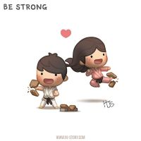 Be Strong by hjstory