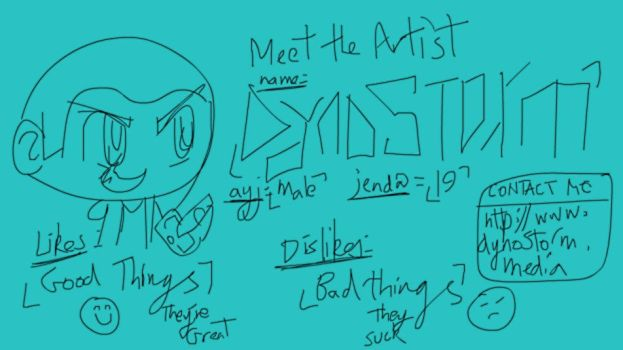 Meet the Artist : DynoStorm by DynoStorm