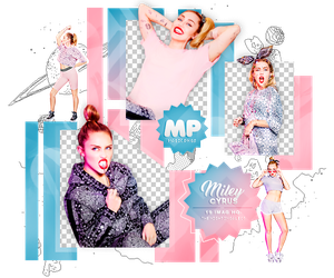PACK PNG 1096| MILEY CYRUS by MAGIC-PNGS