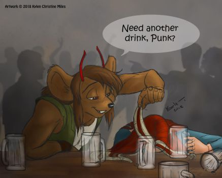 Another rum, General? by Artaith-21