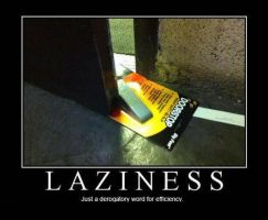 Laziness by jay4gamers1