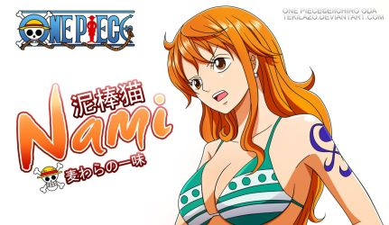 One Piece - Nami by Tekilazo300