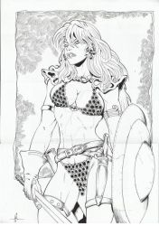 Nill Rock Red Sonja by NilRock